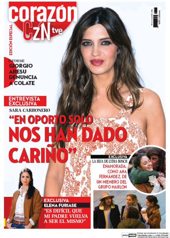 HOY CORAZON portada 7 de Marzo 2016
