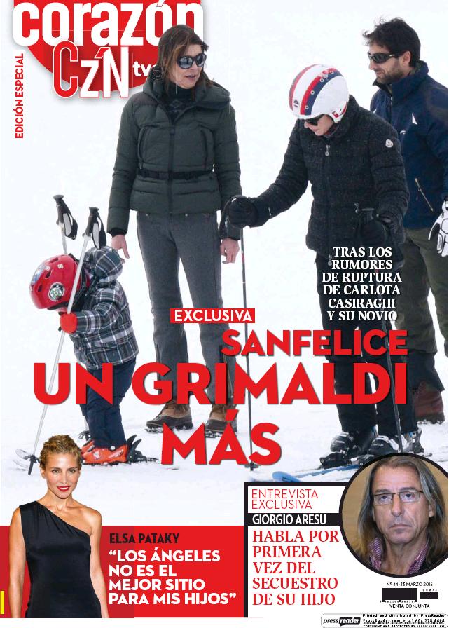 HOY CORAZON portada 13 de Marzo 2016