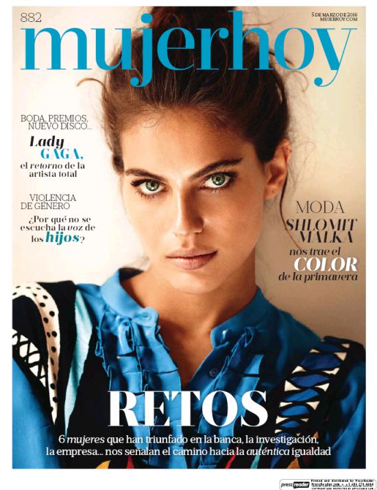 MUJER HOY portada 6 de Marzo 2016