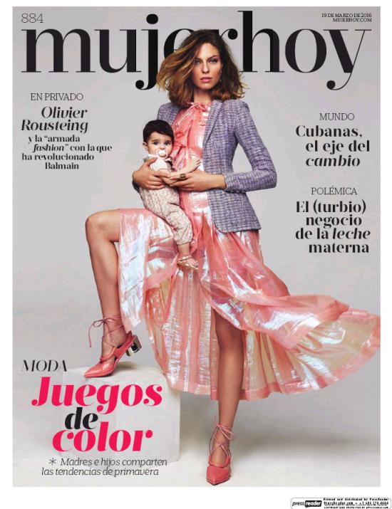 MUJER HOY portada 20 de Marzo 2016