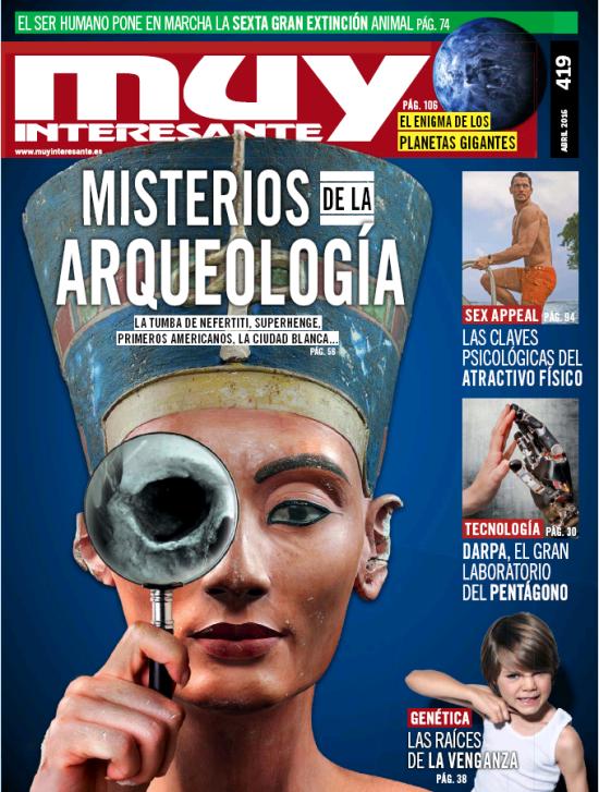 MUY INTERESANTE portada Abril 2016