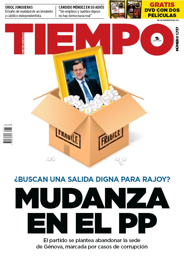 TIEMPO portada 6 de Marzo 2016