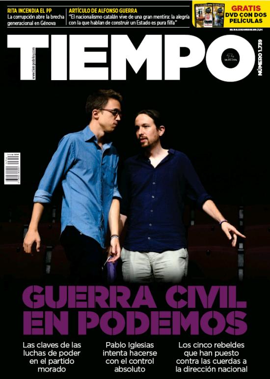 TIEMPO portada 20 de Marzo 2016