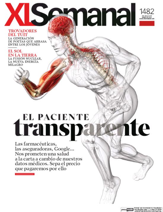 XL SEMANAL portada 20 de Marzo 2016