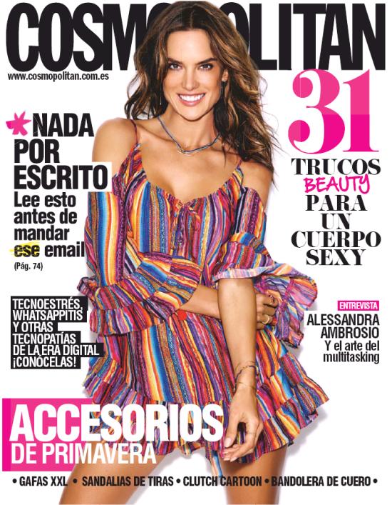 COSMOPOLITAN portada Abril 2016