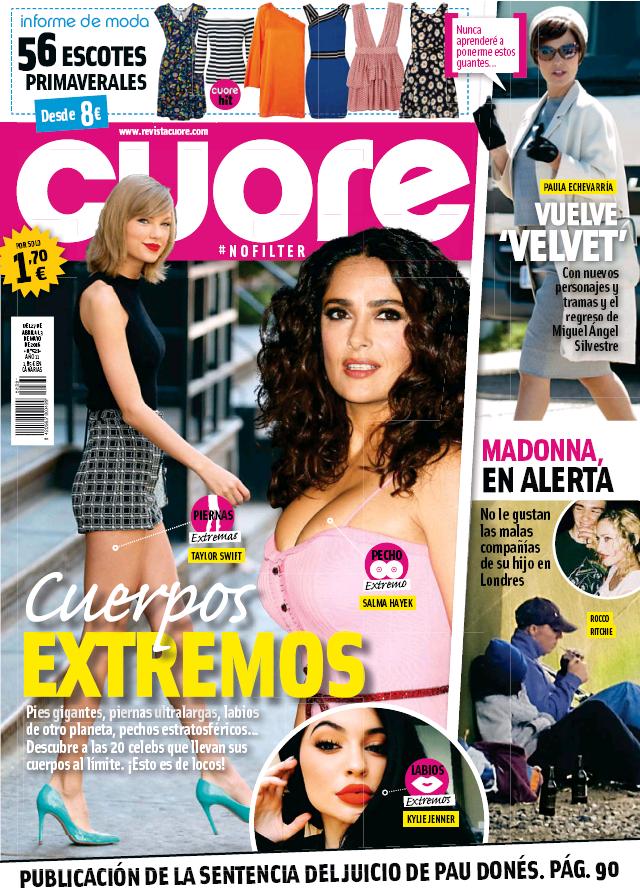 CUORE portada 27 de Abril 2016