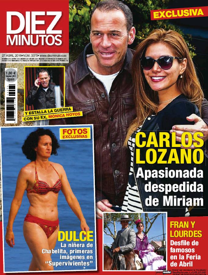 DIEZ MINUTOS portada 20 de Abril 2016