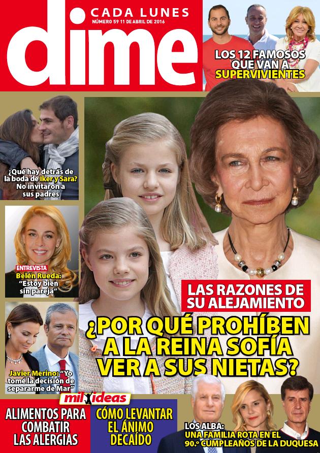 DIME portada 4 de Abril 2016
