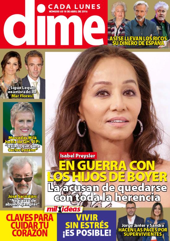 DIME portada 11 de Abril 2016