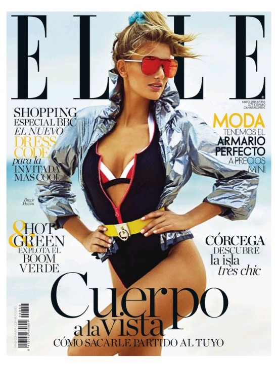 ELLE portada Mayo 2016