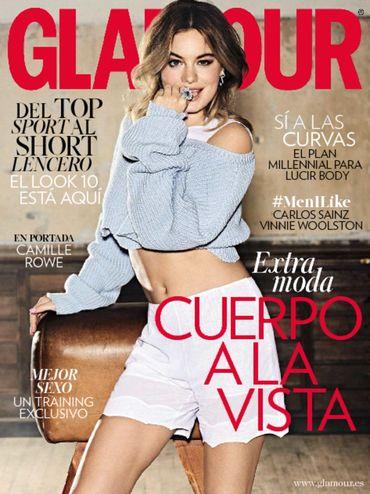 GLAMOUR portada Mayo 2016