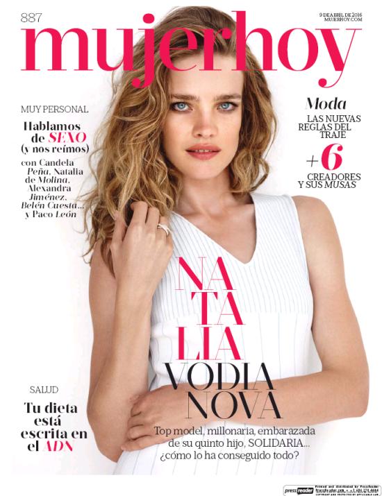 MUJER HOY portada 10 de Abril 2016