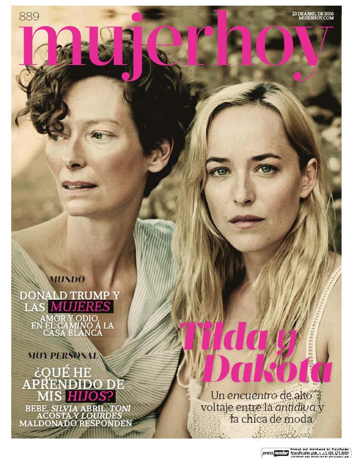 MUJER HOY portada 24 de Abril 2016