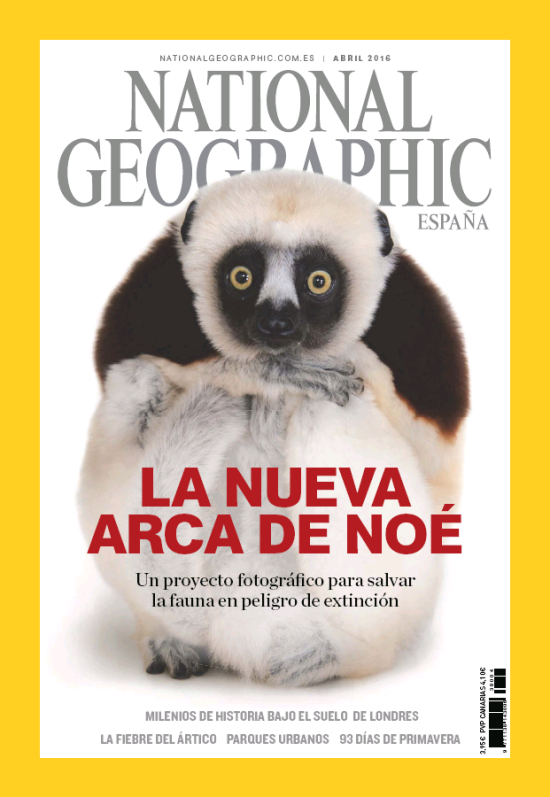 NATIONAL GEOGRAPHIC portada Abril 2016