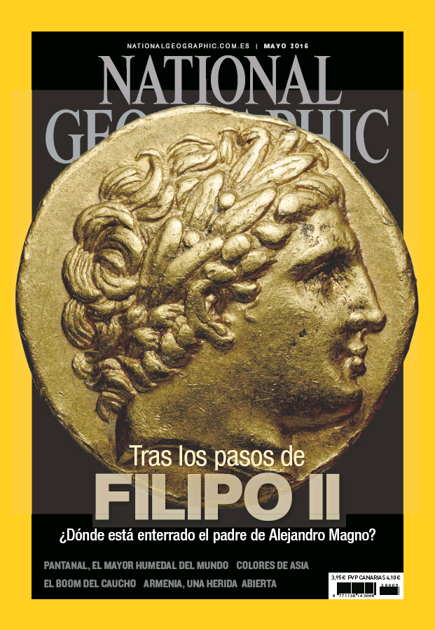 NATIONAL GEOGRAPHIC portada Mayo 2016
