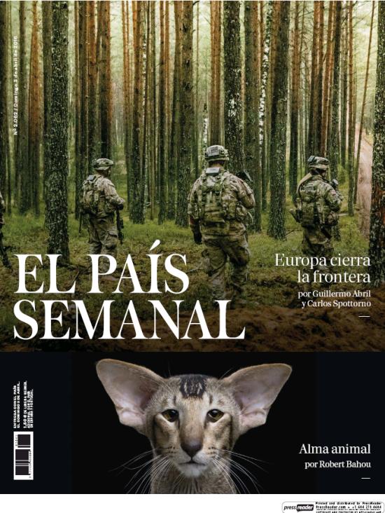 PAIS SEMANAL portada 3 de Abril 2016