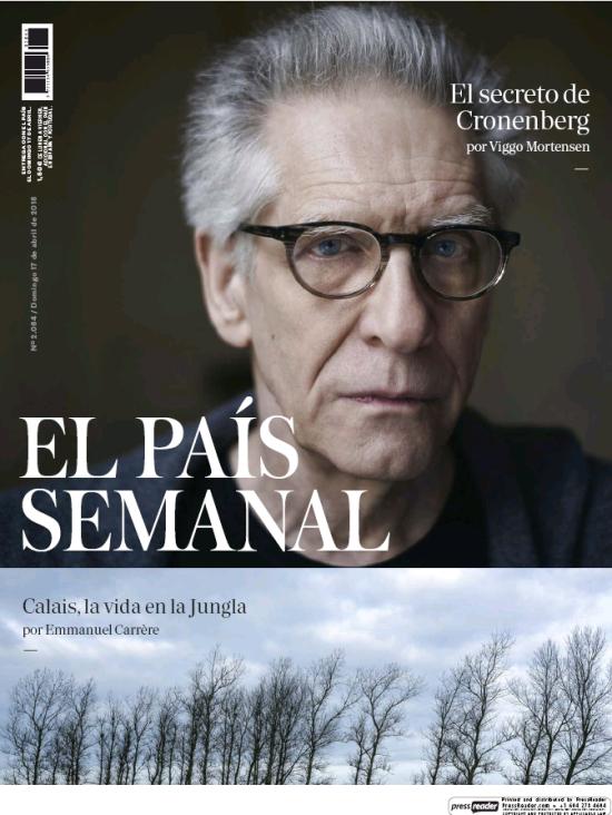 PAIS SEMANAL portada 19 de Abril 2016