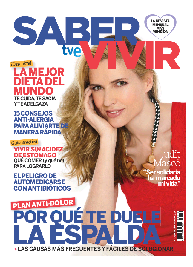 SABER VIVIR portada Abril 2016
