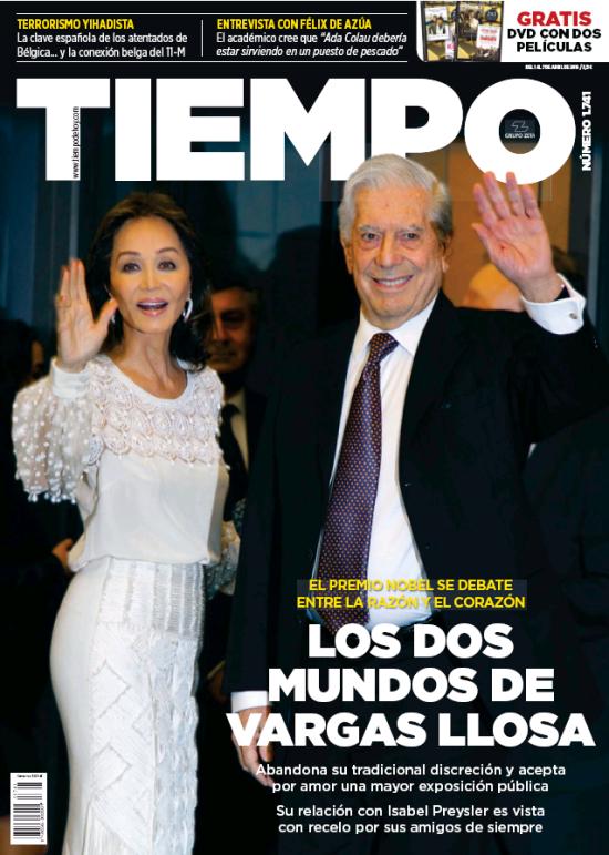 TIEMPO portada 3 de Abril 2016