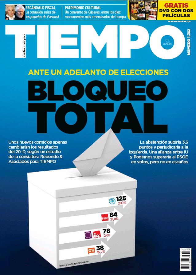 TIEMPO portada 10 de Abril 2016
