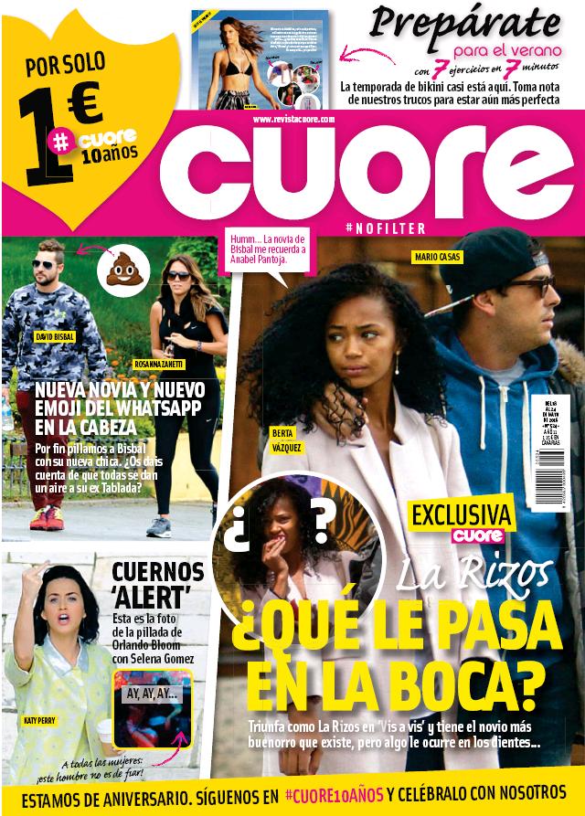 CUORE portada 18 de Mayo 2015