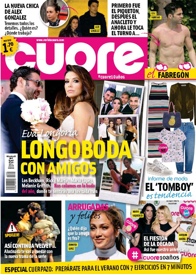 CUORE portada 25 de Mayo 2016