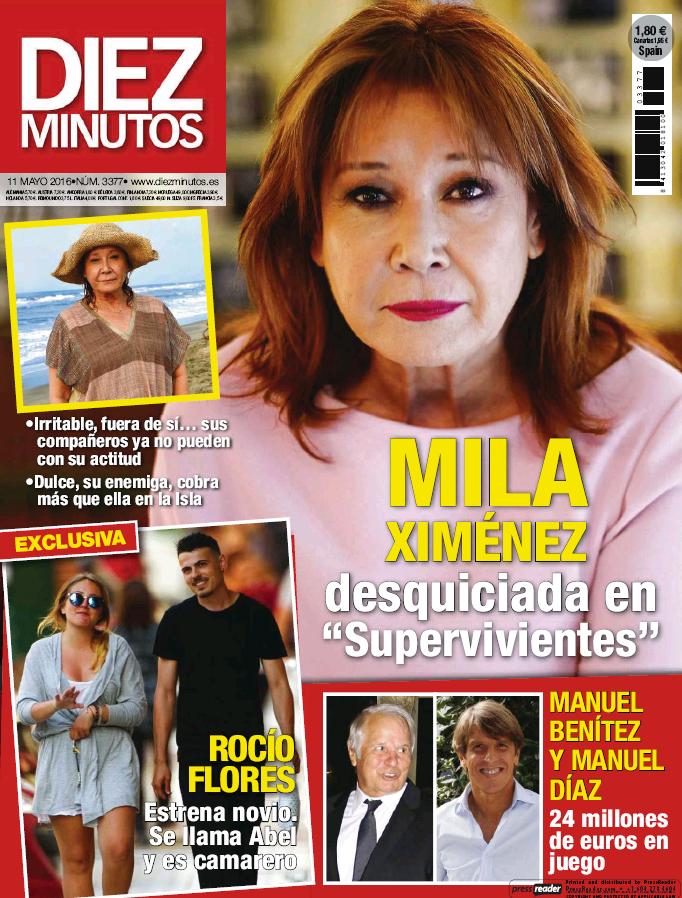 DIEZ MINUTOS portada 4 de Mayo 2016