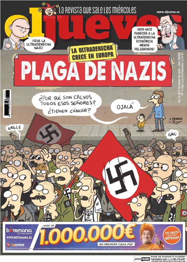 JUEVES portada 11 de Mayo 2016