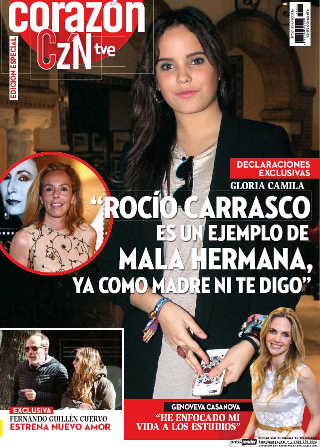 HOY CORAZON portada 8 de Mayo 2016