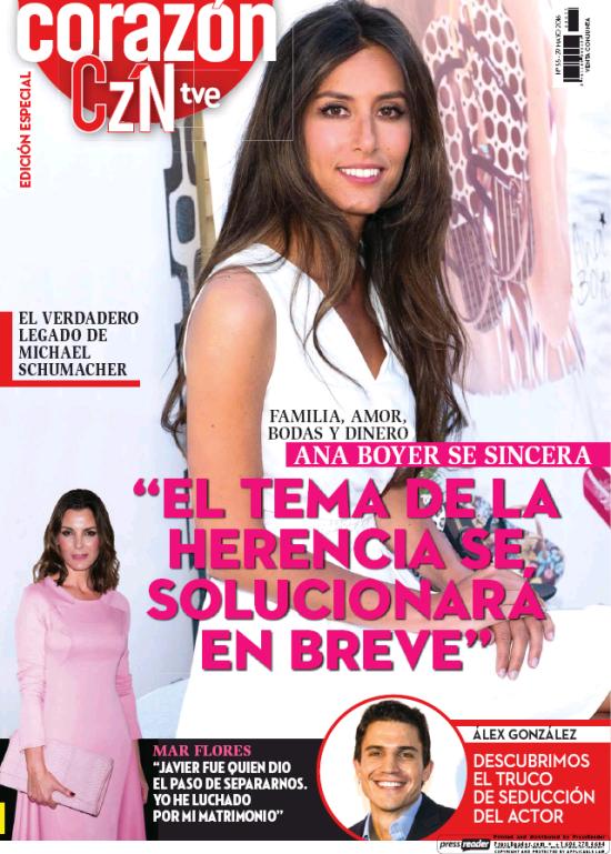 HOY CORAZON portada 30 de Mayo 2016
