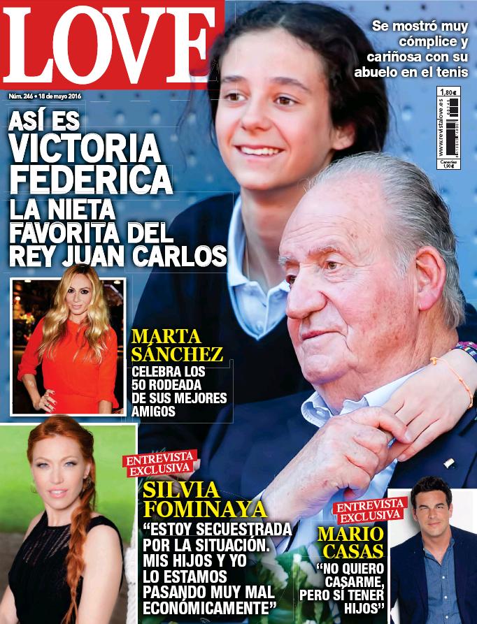 LOVE portada 11 de Mayo 2016
