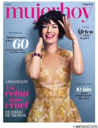 MUJER HOY portada 1 de Mayo 2016
