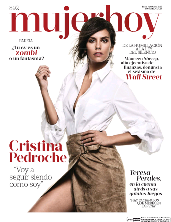 MUJER HOY portada 15 de Mayo 2016