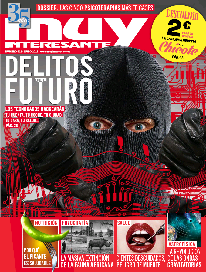 MUY INTERESANTE portada Junio 2016