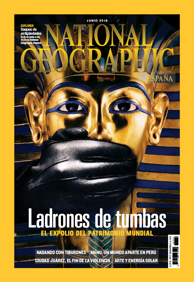 NATIONAL GEOGRAPHIC portada Junio 2016