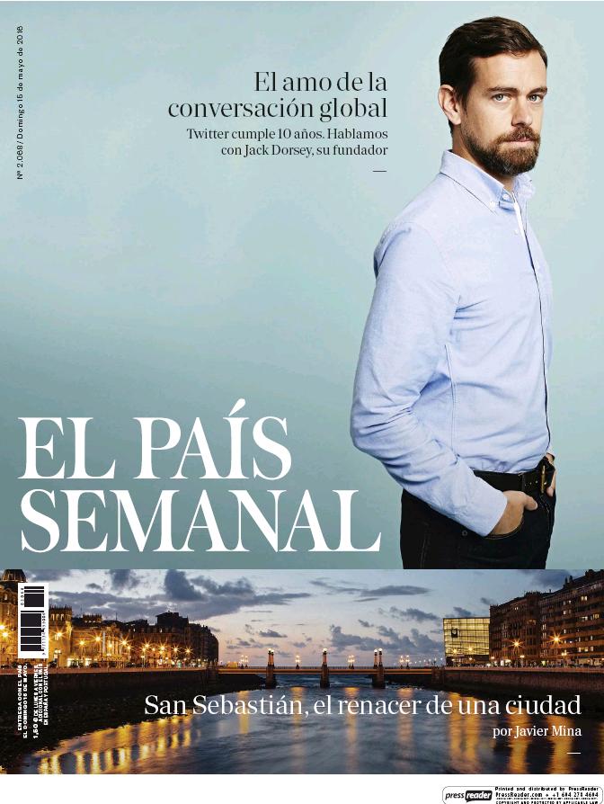 PAIS SEMANAL portada 15 de Mayo 2016