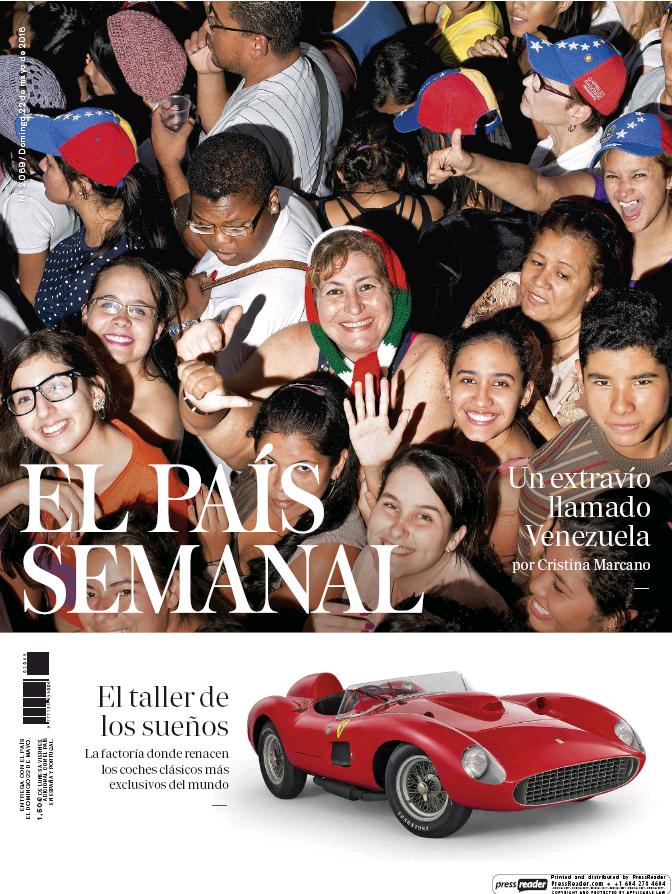 PAIS SEMANAL portada 22 de Mayo 2016