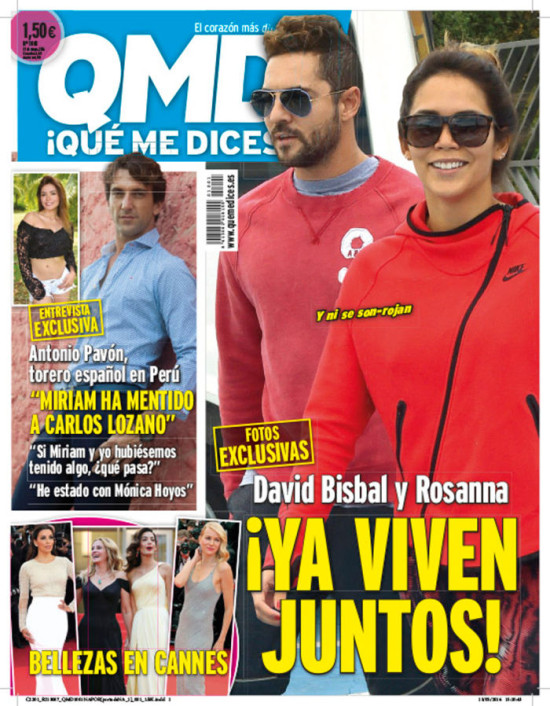 QUE ME DICES portada 16 de Mayo 2016