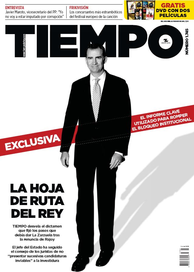 TIEMPO portada 1 de Mayo 2016