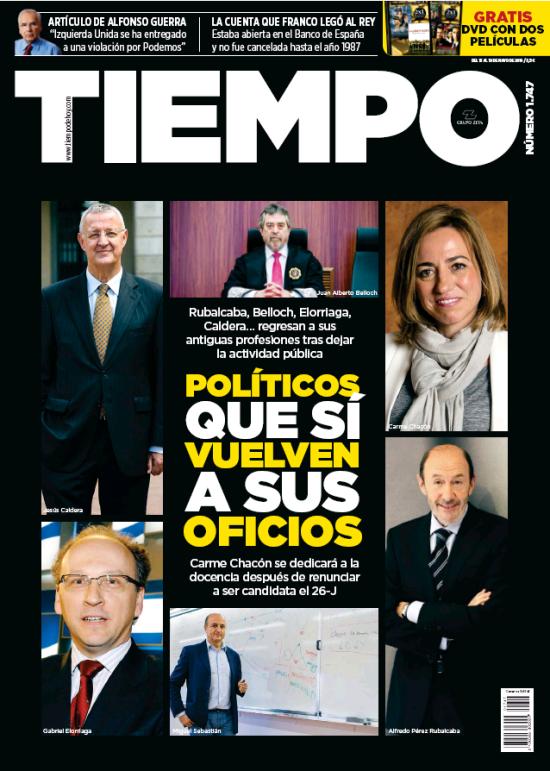 TIEMPO portada 15 de Mayo 2016