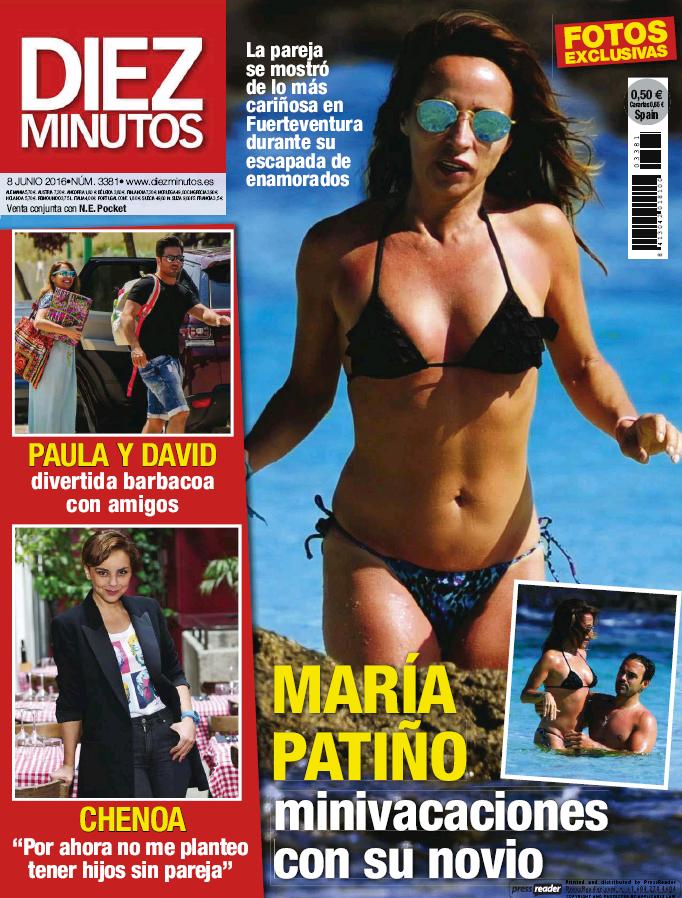 DIEZ MINUTOS portada 1 de Junio 2016
