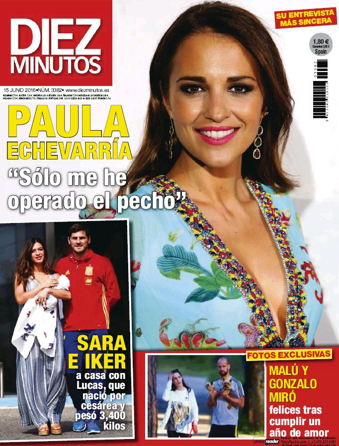 DIEZ MINUTOS portada 8 de Junio 2016