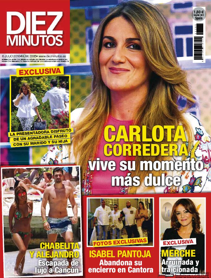 DIEZ MINUTOS portada 29 de Junio 2016