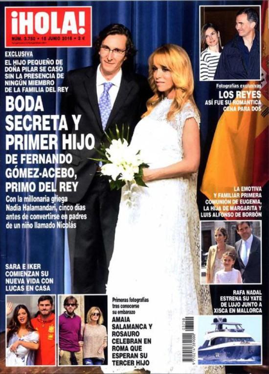 HOLA portada 8 de Junio 2016