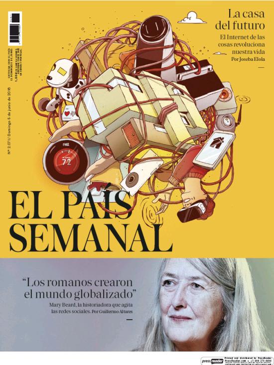 PAIS SEMANAL portada 5 de Junio 2016