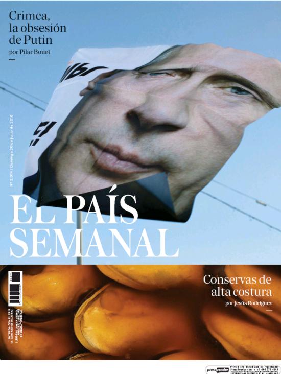 PAIS SEMANAL portada 26 de Julio 2016