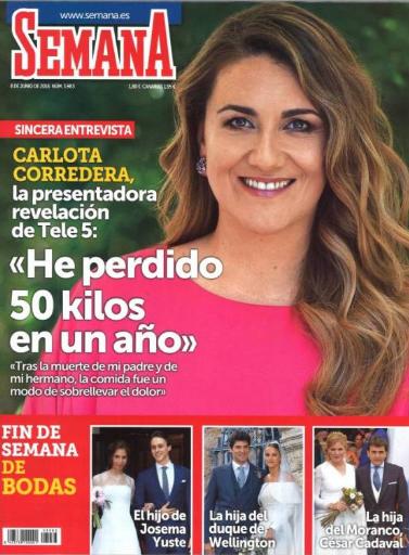 SEMANA portada 1 de Junio 2016