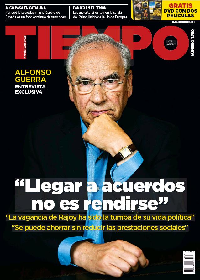 TIEMPO portada 5 de Junio 2016