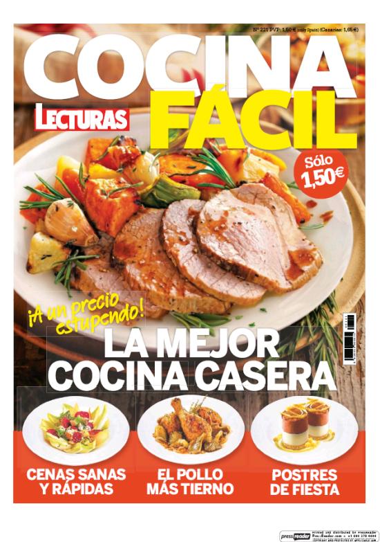 COCINA FACIL portada Junio 2016