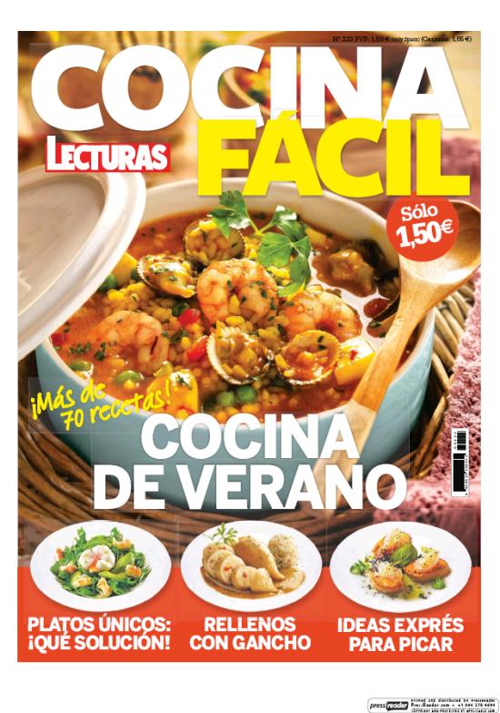 COCINA FACIL portada Julio 2016